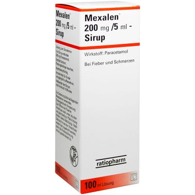 Mexalen Sirup 200 mg / 5 ml