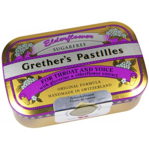 Grethers Pastilles Elderflower, zuckerfrei