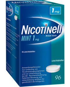 Nicotinell Ltbl Mint 1mg
